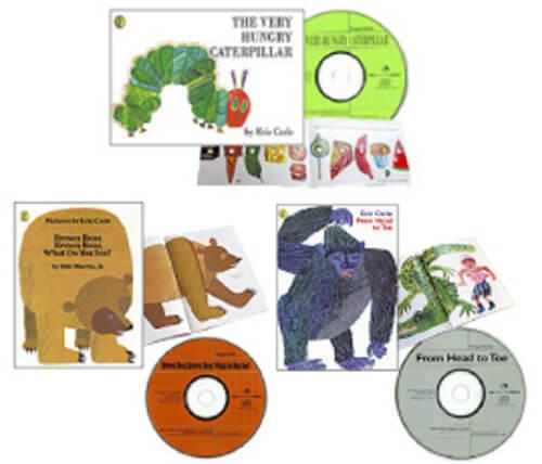 エリック・カール CD付き絵本・3冊セット