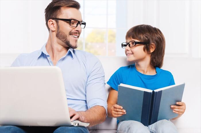 親の姿勢と家族のコミュニケーション