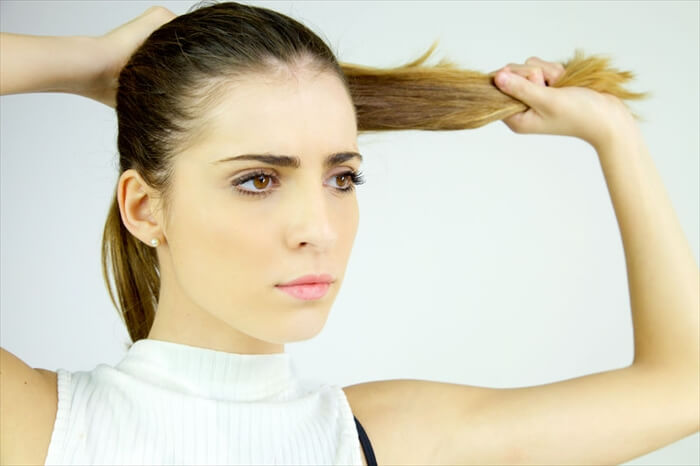 頭皮に負担のかかるヘアスタイル