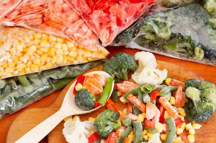 冷凍野菜や缶詰を活用すればいい