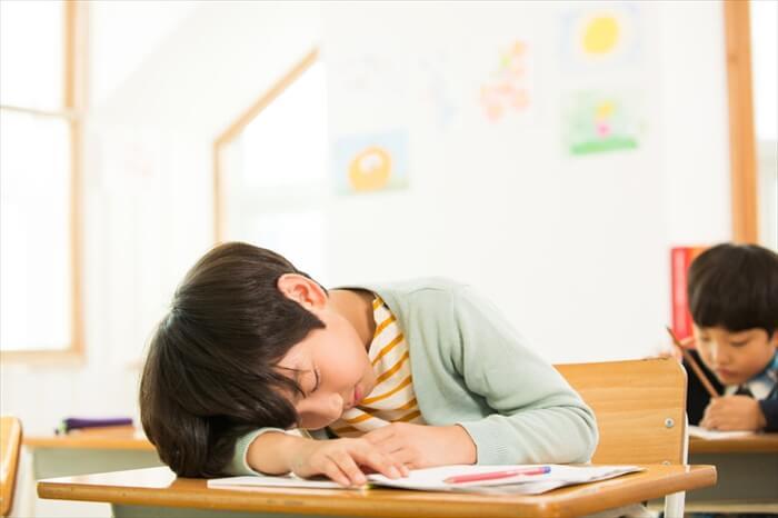睡眠習慣が子供に及ぼす影響
