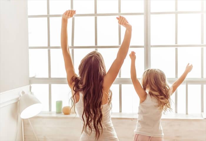 目覚めを良くするためにママが取るべき改善方法・対策