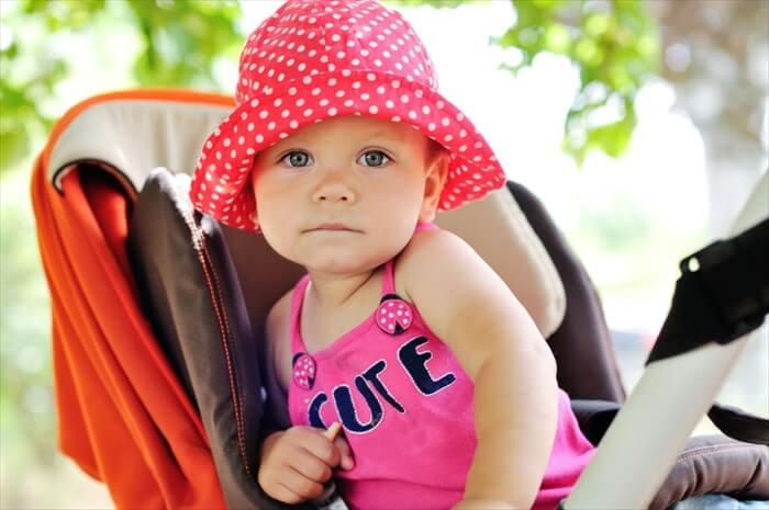 赤ちゃん、小さいお子さんの紫外線対策を忘れないで!!