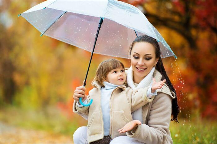 雨の日だから子供とお出かけしよう!親子で楽しむ雨の日散歩♪